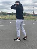 КАЧЕСТВО! REEBOK Classic | Мужской спортивный костюм. Чоловічий спортивний костюм | РИБОК, РІБОК (Черно-Серый), фото 6