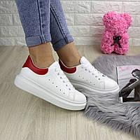 Женские белые кроссовки Lucy 1225