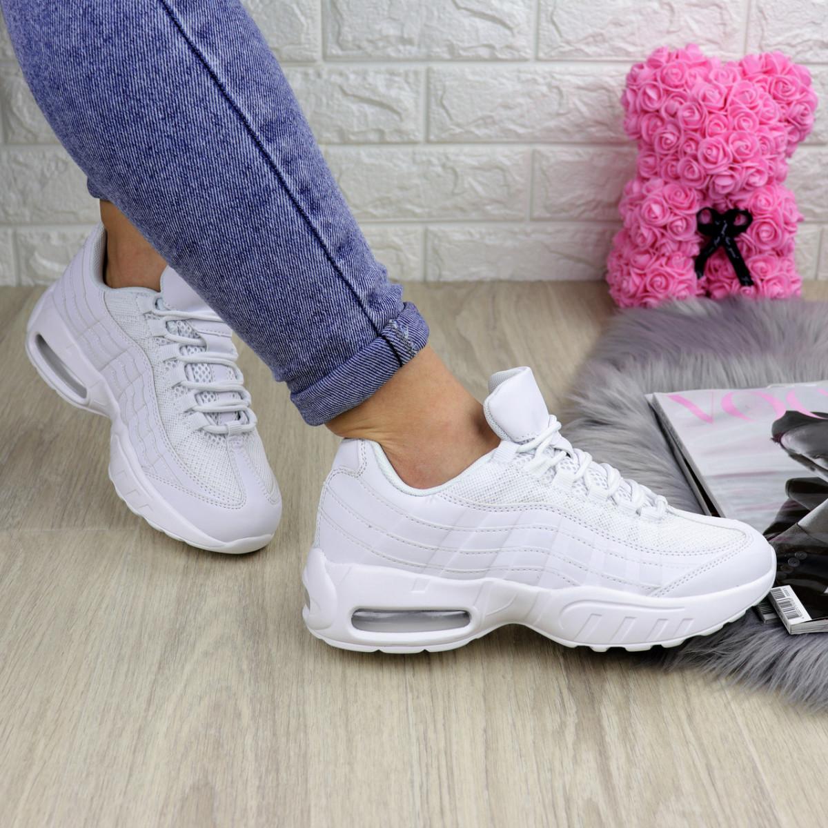 Женские белые кроссовки Lurch 1203