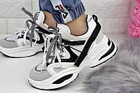 Женские белые кроссовки Vessa 1152