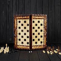 Шахи і нарди ручної роботи, ексклюзивні різьба по дереву, фото 1