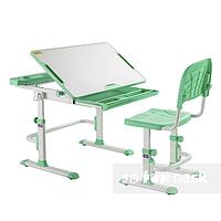 Комплект парта школьная и стул-трансформер Disa Green Cubby