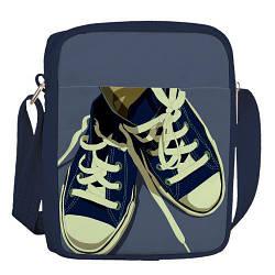 Сумка для підлітків Junior boy Кеди, темно-синій (SDB_18A022_TSI)