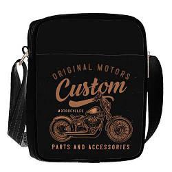 Сумка для підлітків Junior boy Мотоцикл (SDB_18A009_BL)