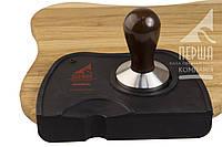 Набор бариста: Темпер (размеры от 50 мм до 58 мм) и силиконовый коврик для темперовки кофе (17*12.5)