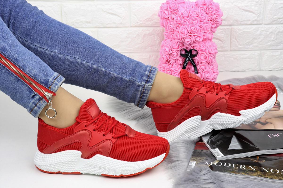 Женские кроссовки Daisy красные 1125