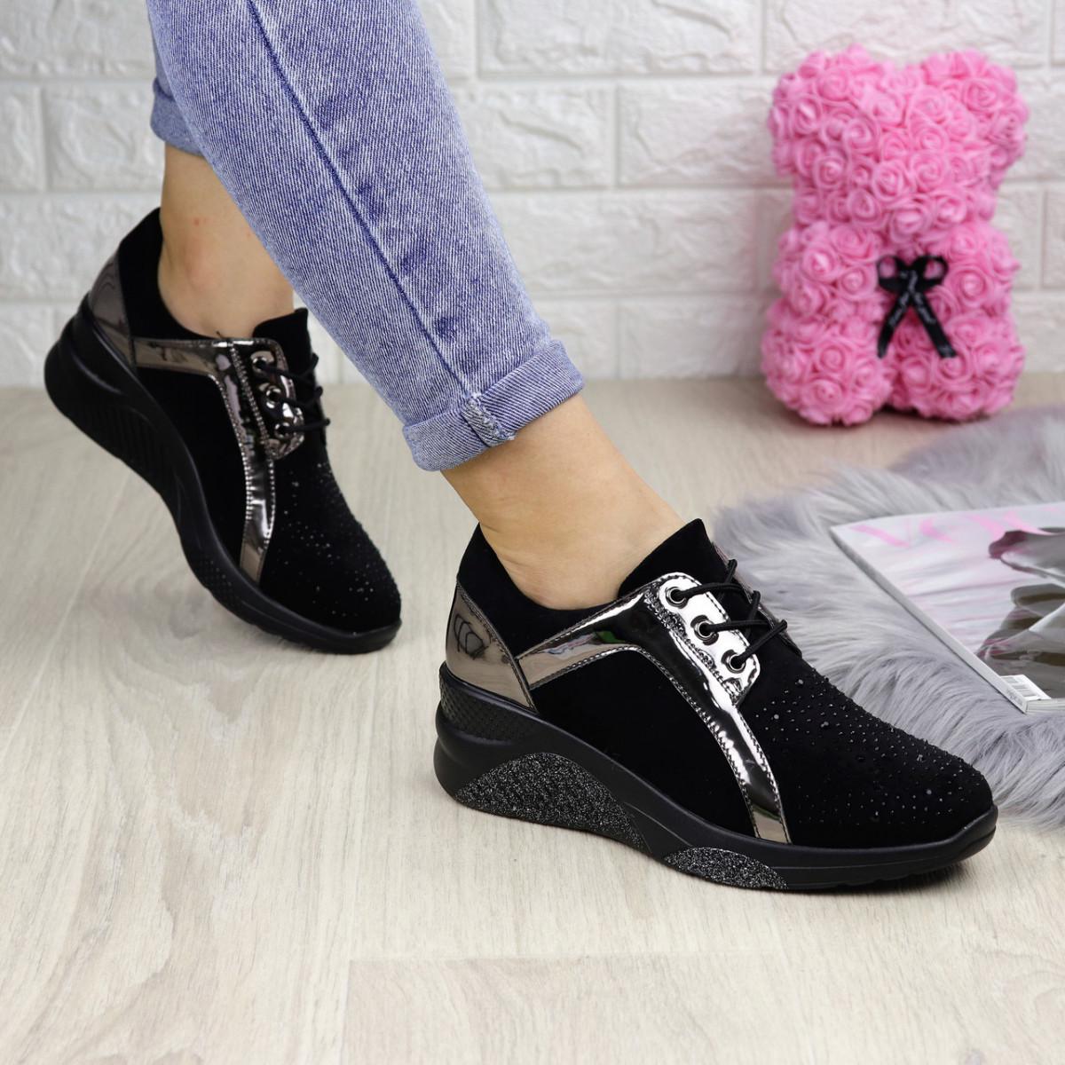 Женские кроссовки Terri черные 1254
