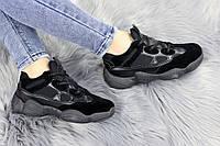 Женские черные кроссовки Cameron 1176