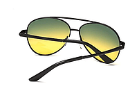 Мужские антибликовые очки 2в1 (Очки для водителей), фото 2