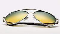 Мужские антибликовые очки 2в1 (Очки для водителей), фото 6