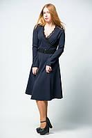Платье женское с длинным рукавом юбка солнце от бренда Adele Leroy