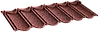 Композитная черепица Queentile CLASSIC