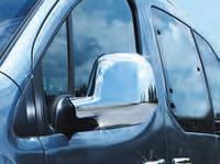 Хром накладки на зеркала Citroen Berlingo (Ситроен Берлинго) 2012+ , ABS пластик