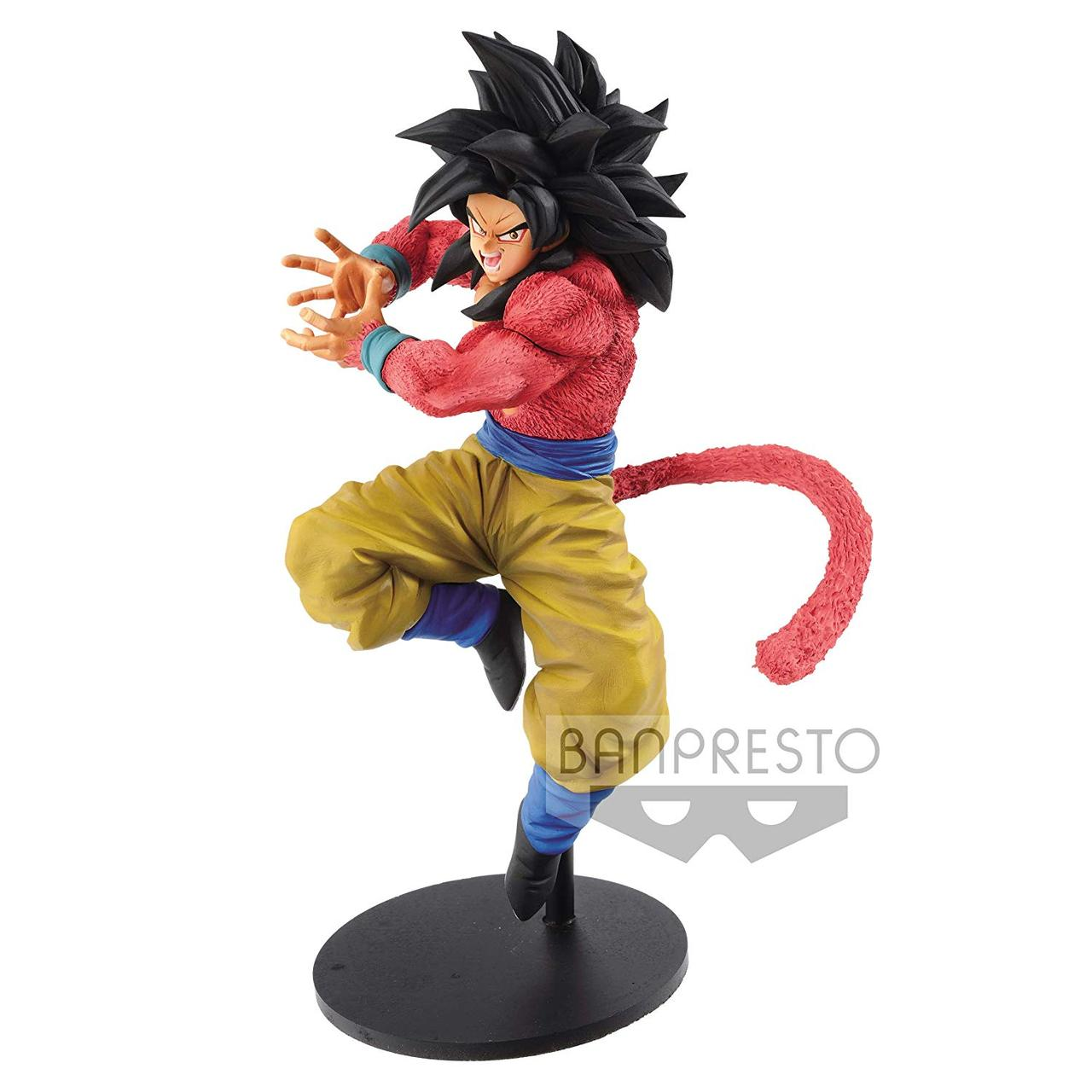 Banpresto 82517P - Dragon Ball GT - Сон Гоку Фигурка х10 Камехамеха