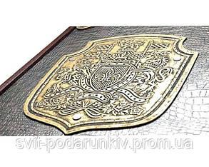 Большие оригинальные нарды Династия с отделкой натуральной кожей, фото 2
