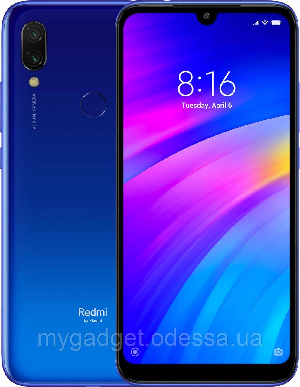 Мобильный телефон Xiaomi Redmi 7 3/64GB Comet Blue (Международная версия)