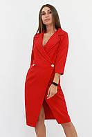 S, M, L / Вишукане жіноче плаття на запах Kristall, червоний