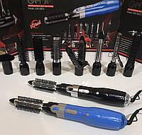 🔝 Воздушный cтайлер для волос Gemei GM 4833 10 в 1 фен