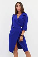 S, M, L / Вишукане жіноче плаття на запах Kristall, синій