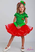 Карнавальный костюм Вишни для девочки, фото 1