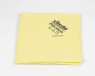 Серветка PVA мікро 35*38 см, жовта, Vileda