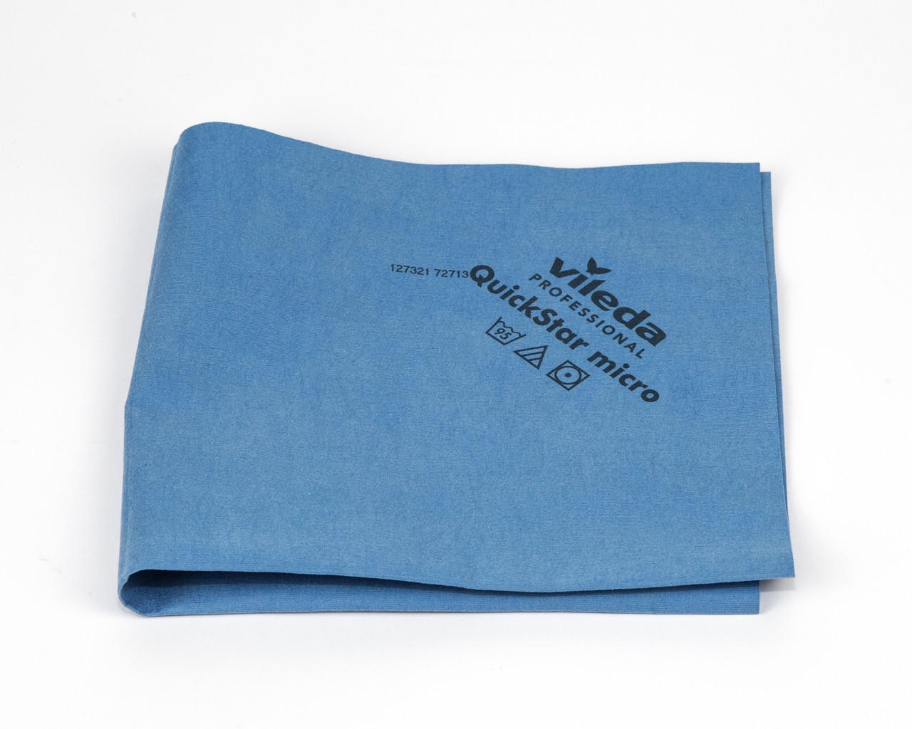 Серветка Квік Стар мікро 38*40 см блакинта, Vileda