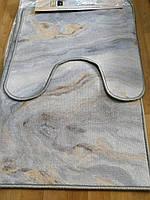 Набор ковриков в ванную и туалет Розетта