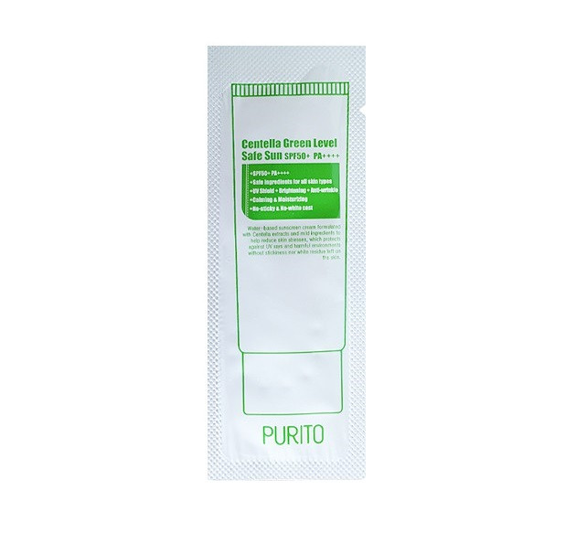 Purito Centella Green Level Safe Sun SPF50 Крем от солнца с экстрактом центеллы
