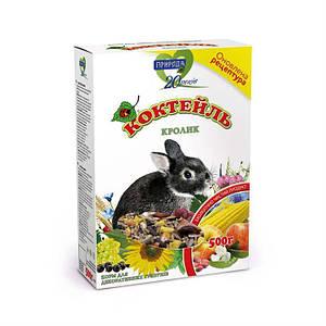 Корм  Коктейль для грызуна Кролик  0,5 кг