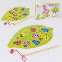 Деревянная игра Рыбалка магнитная Fun Toys С 37658