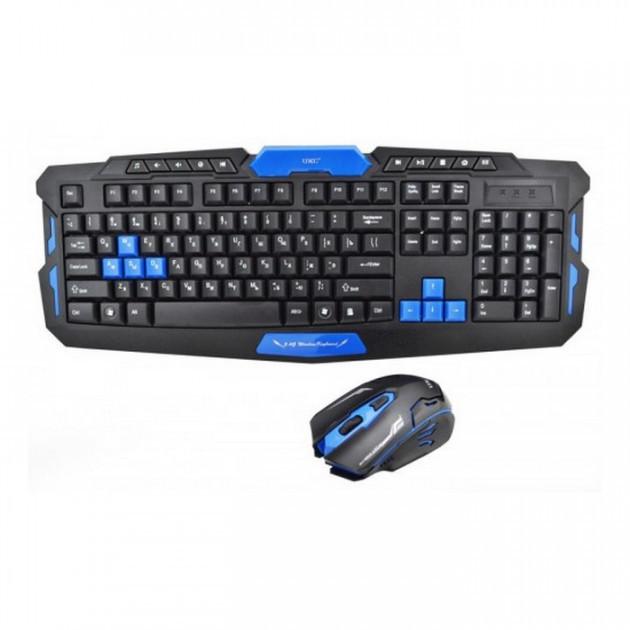 Беспроводная игровая клавиатура + мышка HK8100