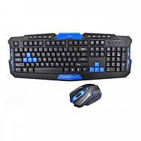 Беспроводная игровая клавиатура + мышка HK8100, фото 1