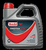 Veedol Powertron Ultra 5w40 4л