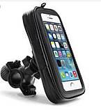 Тримач телефону (навігатора) вологозахисний на кермо в чохлі - сумочці дуже великий 183 * 110 * 30 мм, фото 3