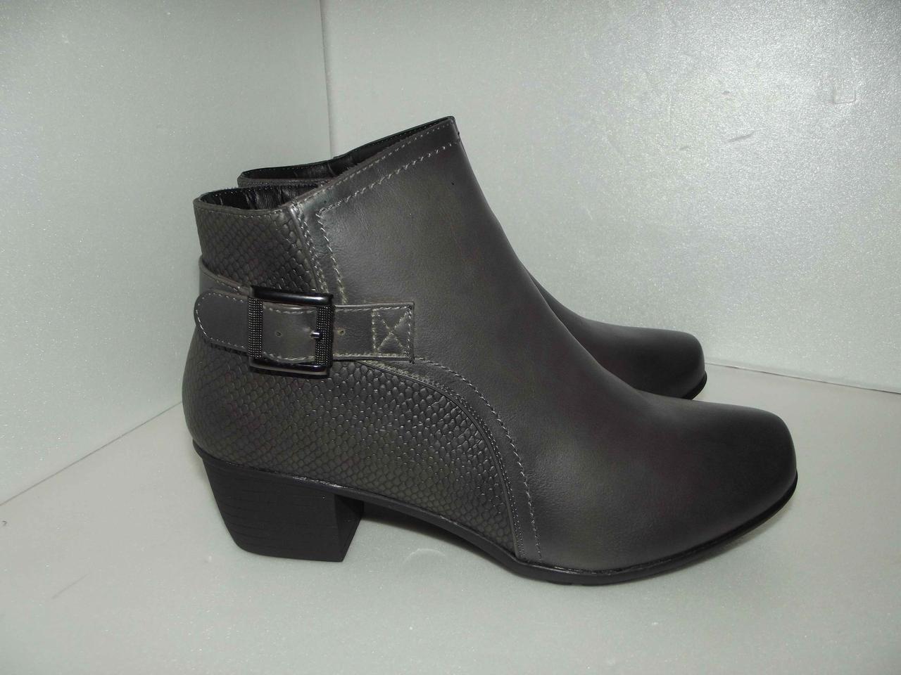 Демисезонные женские ботинки, р. 37
