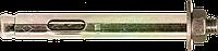 Анкер однорозпірний з кожухом і гайкою, 10х40/М8, цж