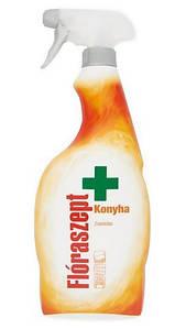 Потужний антибактиріальний знежирювач для миття кухні Floraszept Konynha 750 мл