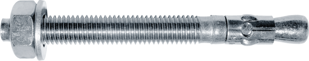 Анкер клиновий однорозпірний з гайкою,М10х135, цб