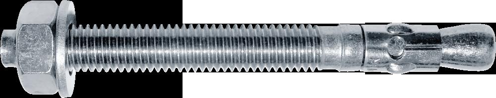 Анкер клиновий однорозпірний з гайкою,М8х75, цб