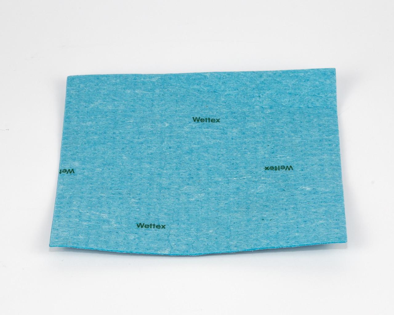 Серветка - губка Веттекс целлюлозна, 17х20 см, блакитна, Vileda
