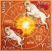 Салфетка декупажная Гороскоп - овен 641
