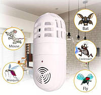 🔥 Ультразвуковой отпугиватель - лампа от насекомых и грызунов Atomic ZABBER