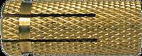 Анкер-втулка 10х28/М8, латунь