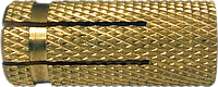 Анкер-втулка 8х23/М6, латунь