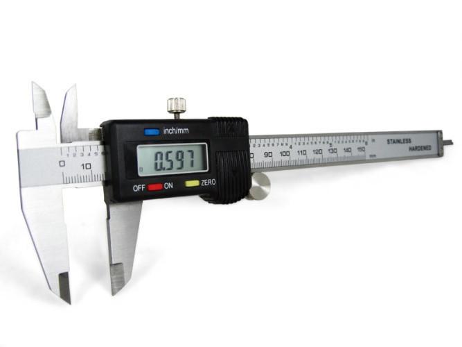 Штангенциркуль цифровой Digital микрометр электронный с экраном в чехле 150мм
