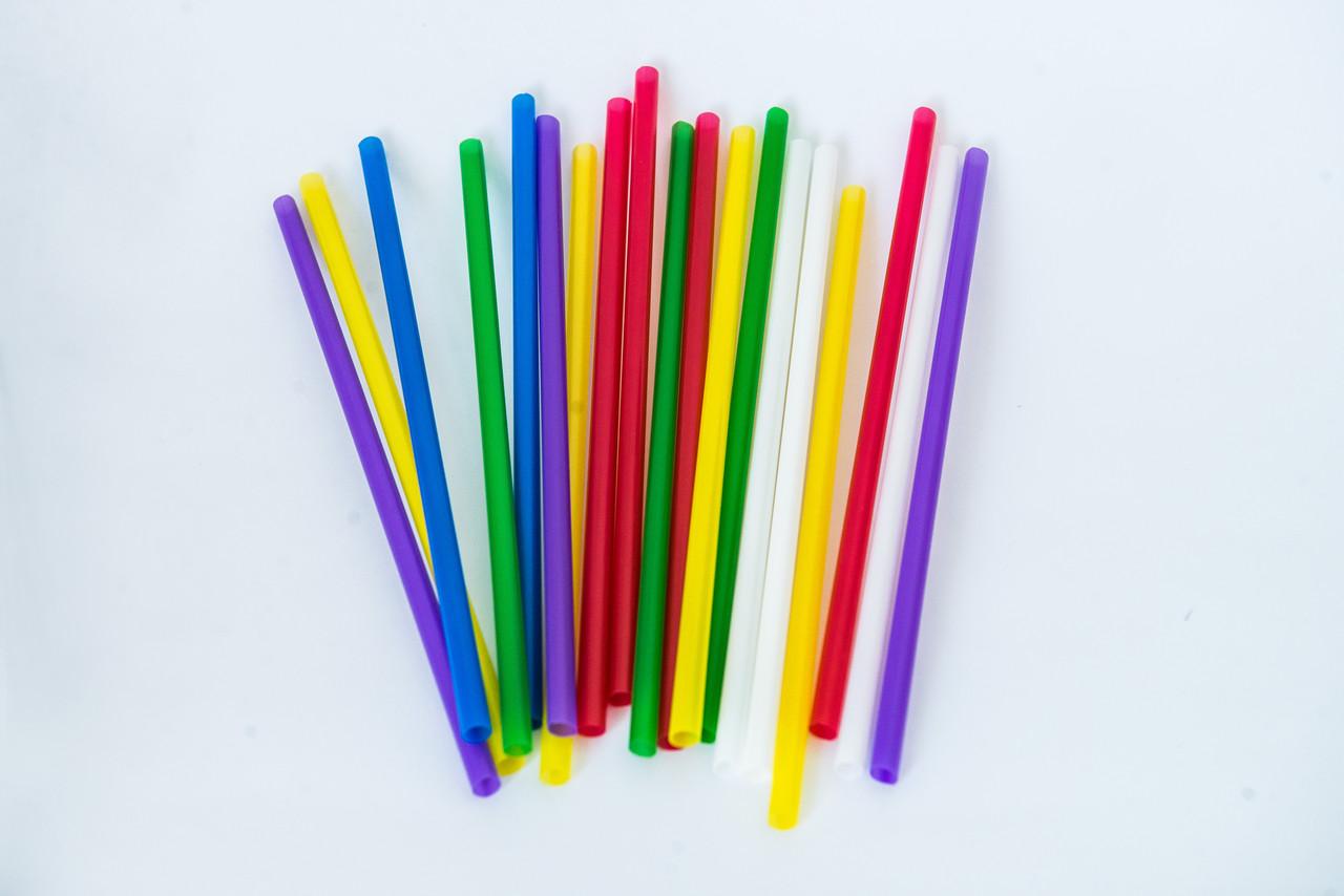 Трубочка мартіні, колір мікс, 4,8 мм х 12,5 см, 200 шт., колір мікс, PRO3