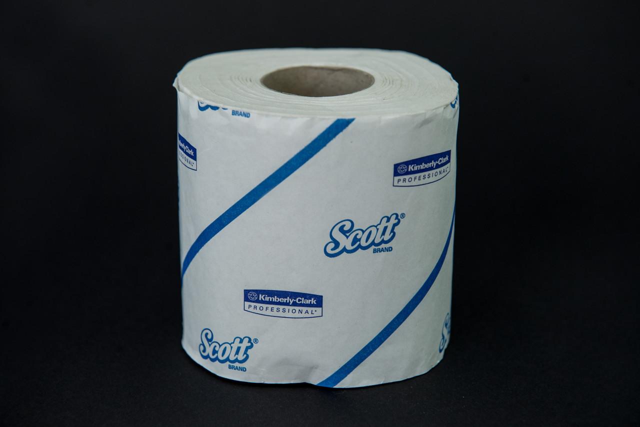 Папір туалетний білий в рулонах, 2 шари, 26,25м, 12 рул в уп, Kleenex Kimberly-Clark