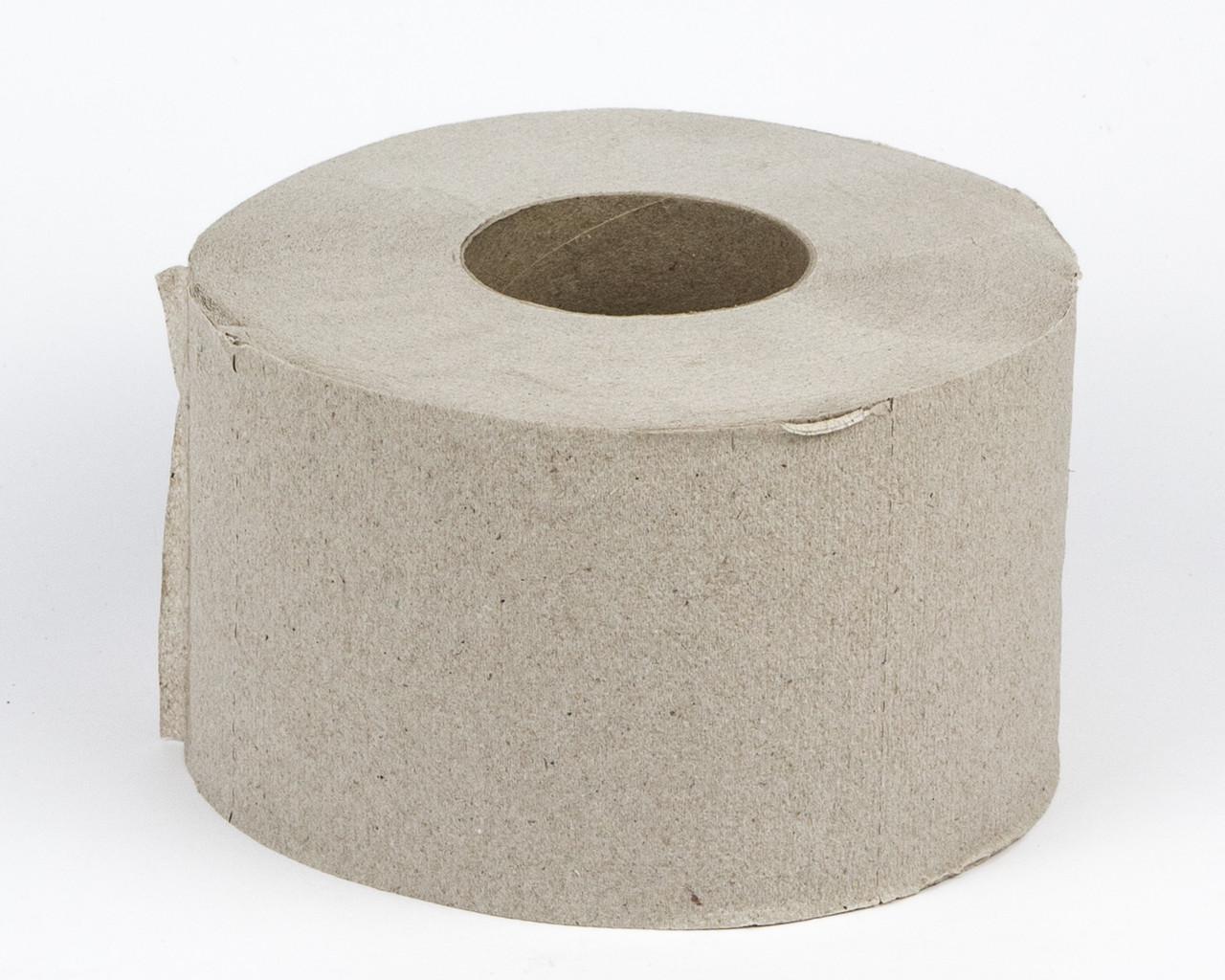 Папір туалетний макулатурний в рулонах Джамбо, 1 шар, 100 м.