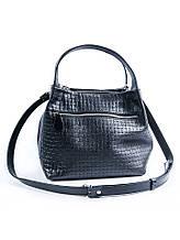 Чорна шкіряна сумочка MINI 6930 -11