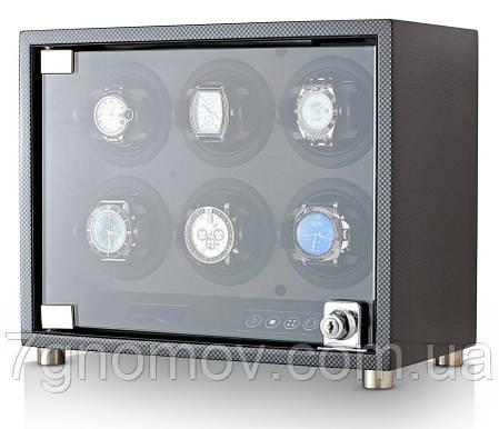 Шкатулка для подзавода часов, тайммувер для 6-и часов Rothenschild RS-6160-6TBD, фото 2